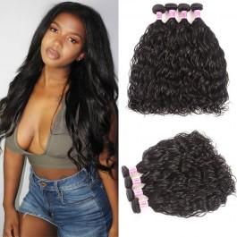 UNice Cheveux  Icenu Série  Extensions des cheveux Brésiliennes  les vagues naturelles humainnes 4pcs /lot