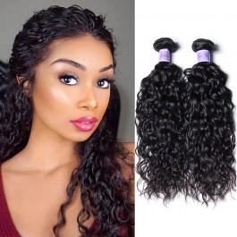 UNice Cheveux Kysiss Série Brésilienne Vague D'eau 4 pcs / paquet  vierge Extension des Cheveux À Vendre