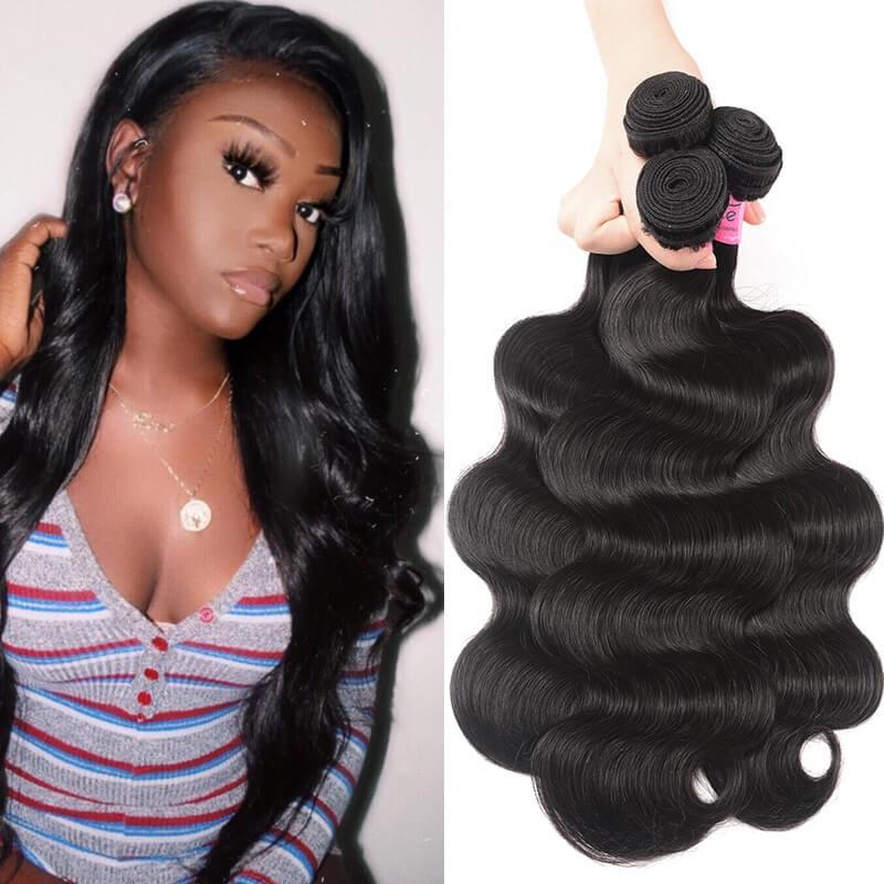 UNice Human Virgin Hair 3 Bundles