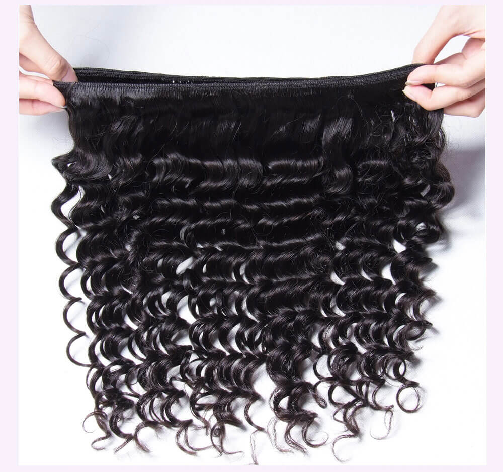 Unice kysiss deep wave 1pc hair