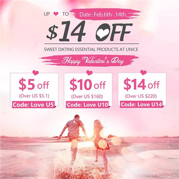 UNice Valentine's Sale