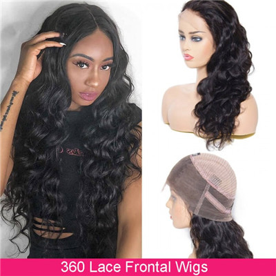 unice 360 lace frontal wig