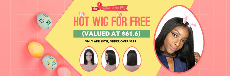 UNice Easter Day virgin Hair Promotions