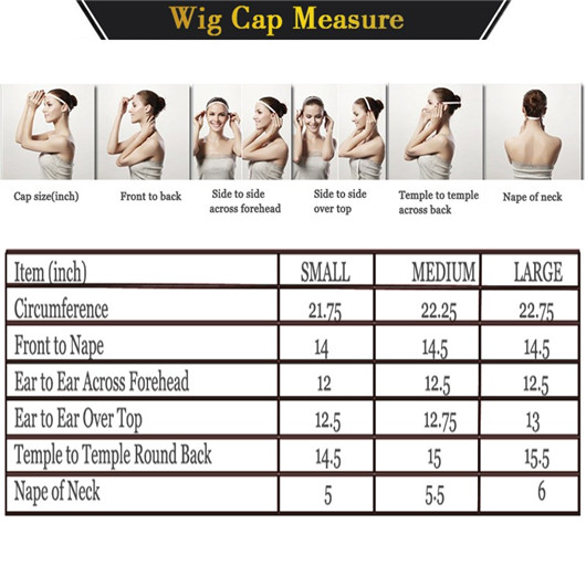 How to Determine Your Wig Size