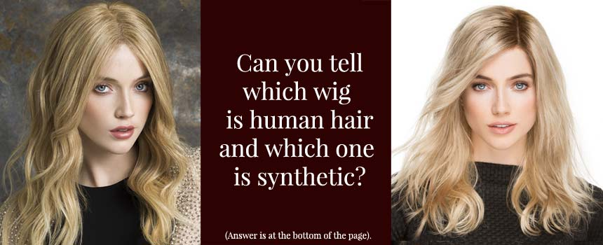 Synthetic Hair Wigs and Human Hair Wigs
