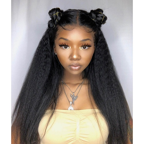 silk straight kinky hair bundles