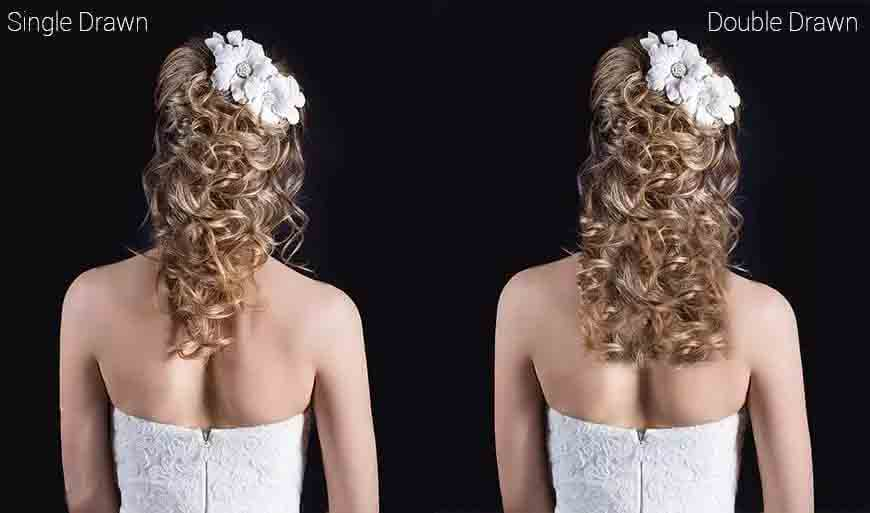 Double Drawn Hair & Single Drawn Hair, Which Is Better?
