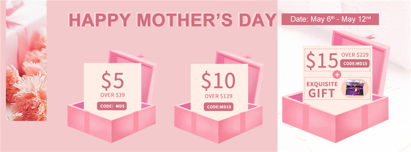 UNice Hair Mother's Day Special Sale 2019
