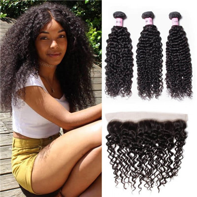 3 bundles with frontals