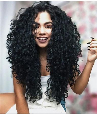 blending loose weave natural hair