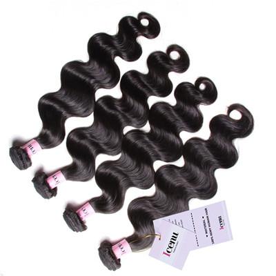 Unprocessed hair weave