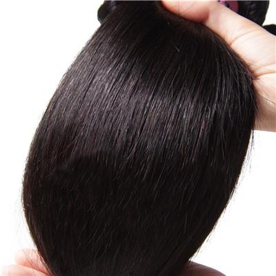 processed hair weave