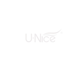 UNice 20pcs 50g Droit Tape In Cheveux Extensions #613 Lightest Blonde 100% Vierge Cheveux